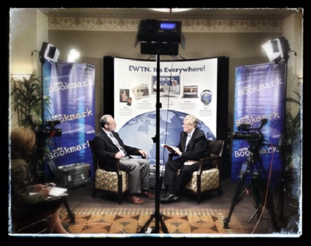 Catholic speaker and author Gary Zimak discusses his books on the EWTN Bookmark television show