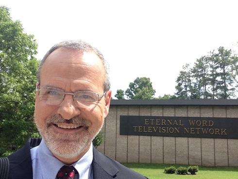 Catholic speaker and author Gary Zimak at EWTN studios