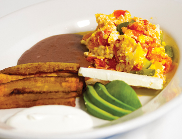 Desayuno Tipico Salvadoreño/Typical Salvadorean Breakfast