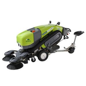 Motorized vacuum sweeper