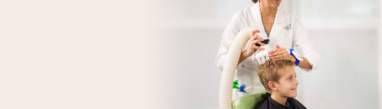 Three Step Lice Removal Process
