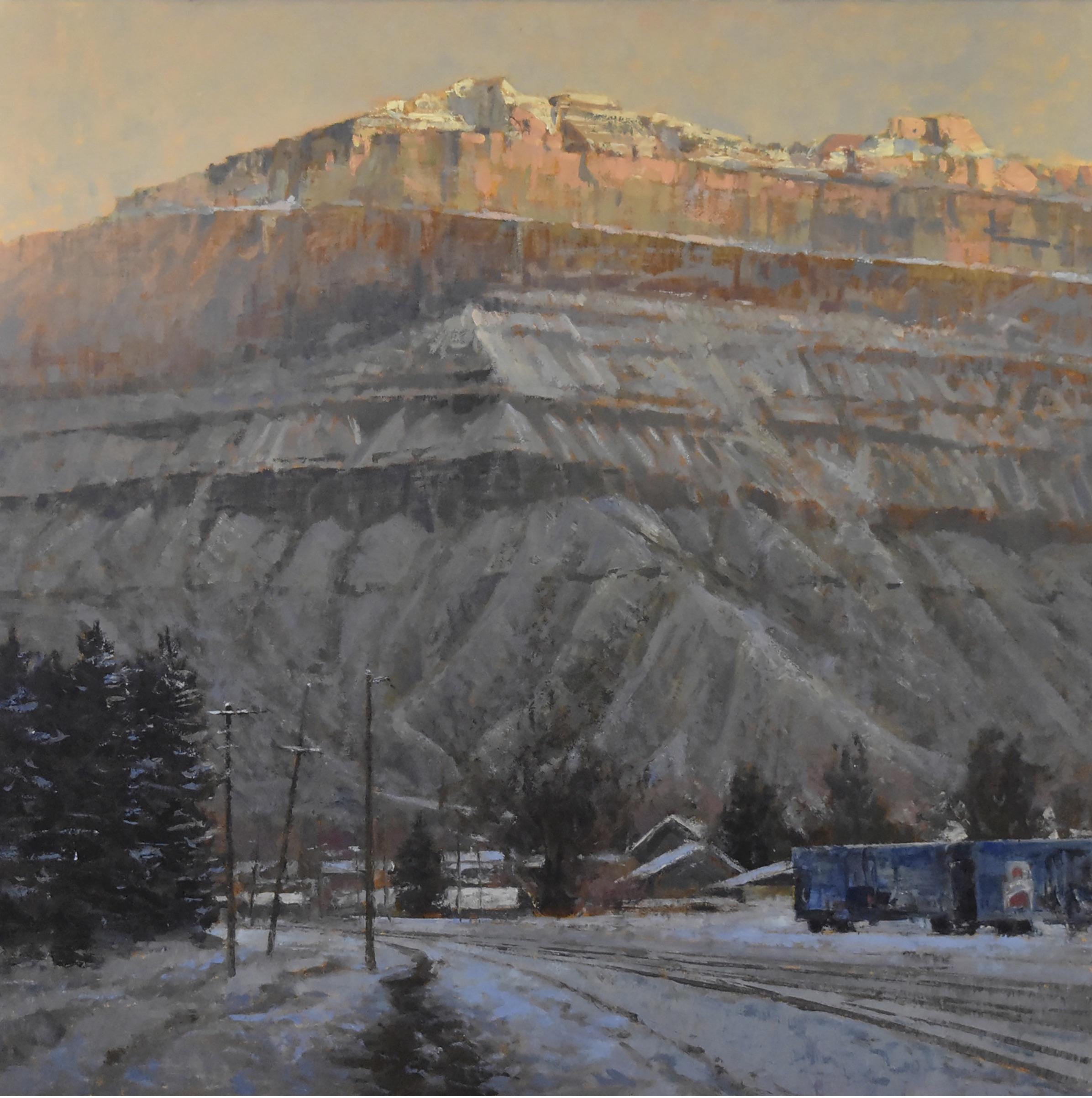 Book Cliffs in Winter