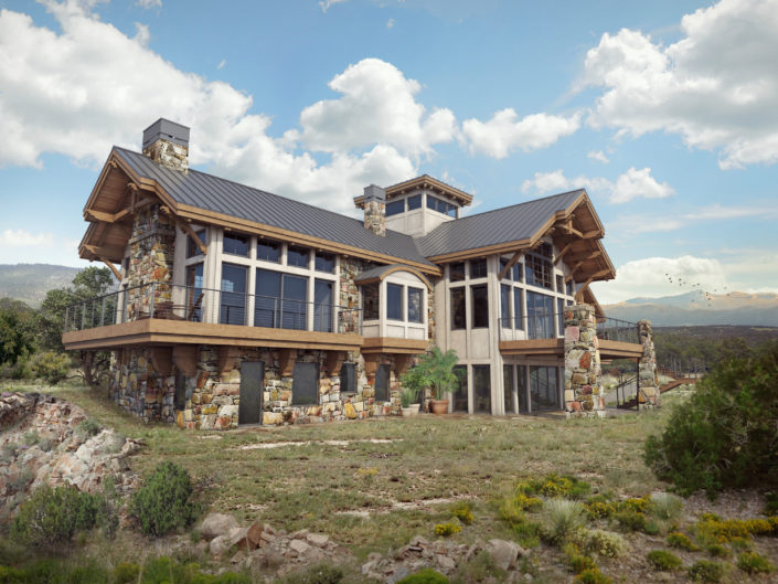 Timberframe Rendering New Mexico