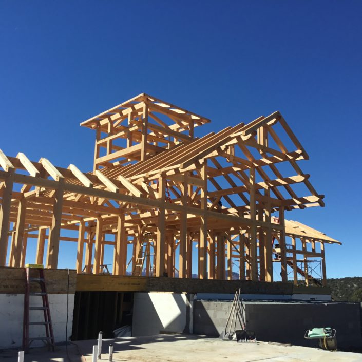Timberframe Construction New Mexico