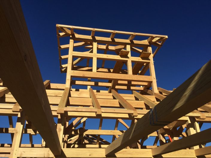 Timberframe Construction New Mexico Observatory