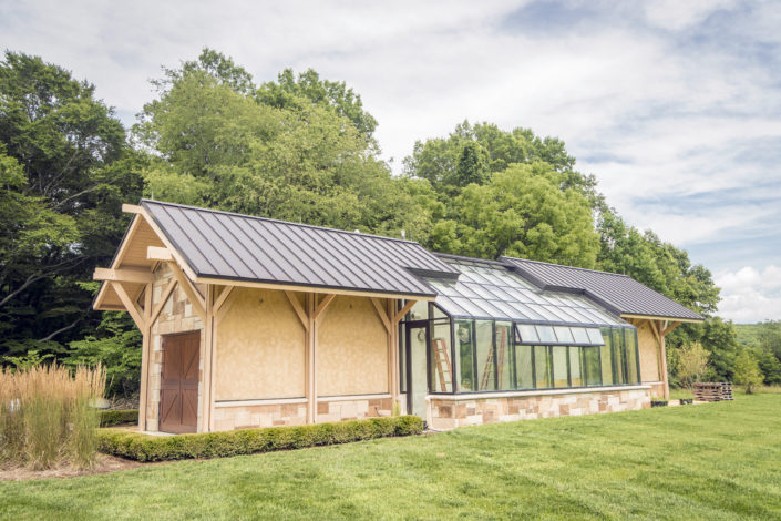 Timberframe Architecture Greenhouse