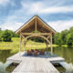 Timberframe Tabberson Architects Pier Indiana