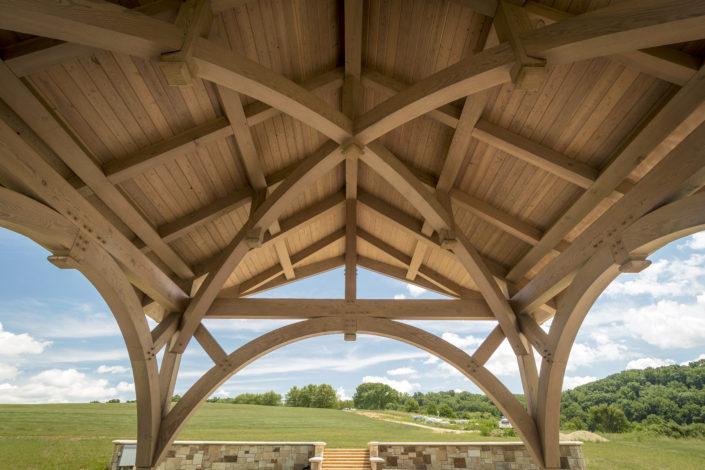 Timberframe Tabberson Architects Pier Indiana