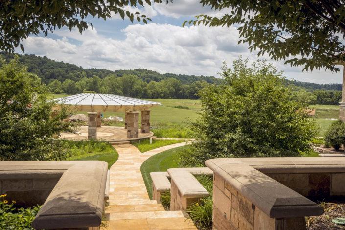 Timberframe Pavilion Tabberson Architects