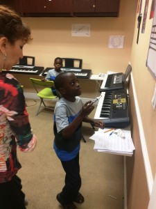 Piano class at Inna's Hall of Fame