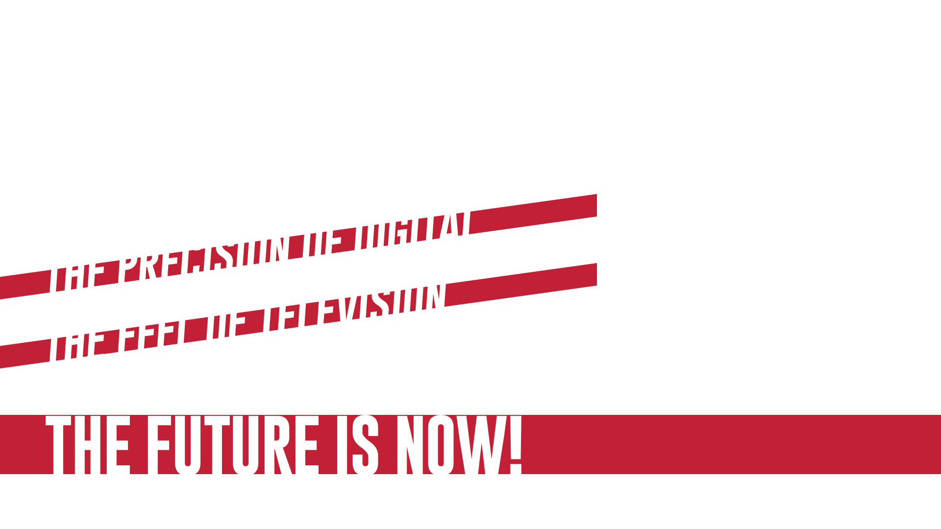 connected tv advertising - the precision of digital with the feel of television. the future is now!