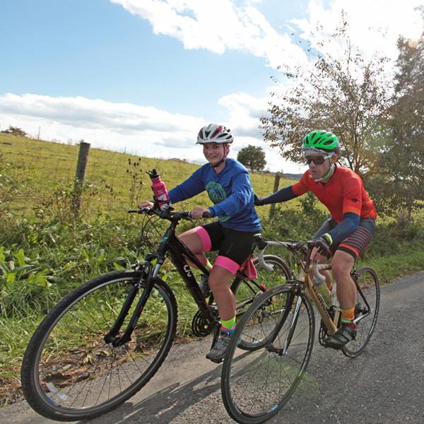 Saturday ride - Fall Foliage Bike Festival