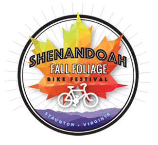 Shenandoah Fall Foliage Bike Festival logo for 2019
