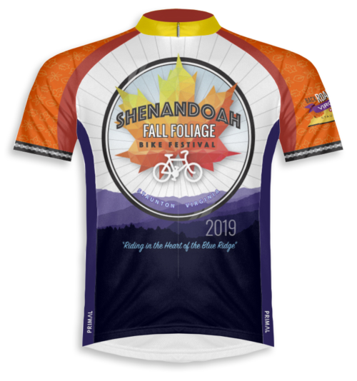 Fall Foliage Bike Festival 2019 Jersey