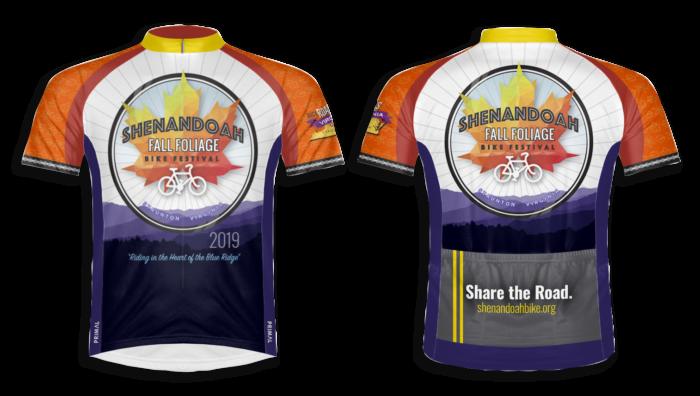 2019 Fall Foliage Bike Festival Jersey