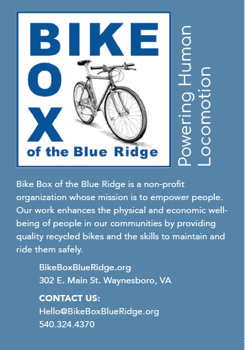 Bike Box of the Blue Ridge, Waynesboro, VA