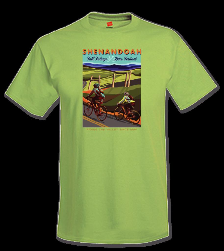 Fall Foliage Bike Festival 2021 T-shirt