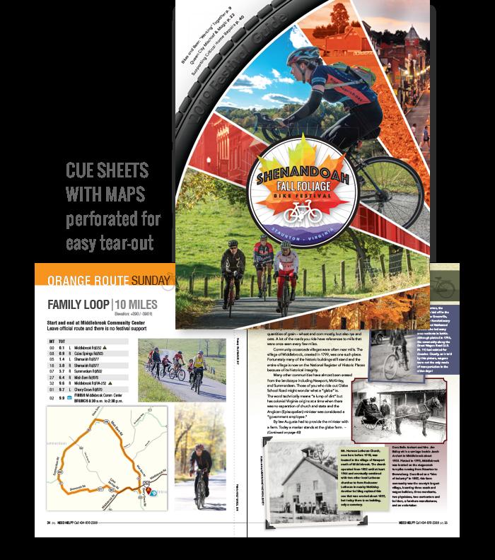 Fall Foliage Bike Festival Event Guide