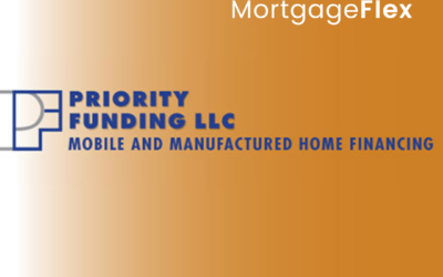 MortgageFlex Systems Announces Successful Implementation of MortgageFlexONE at Priority Funding, LLC