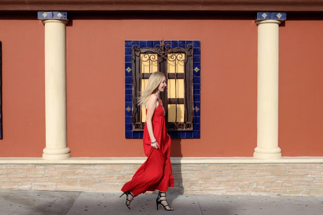 currently crushing, eshakti red dress, bcbgeneration manci heels,