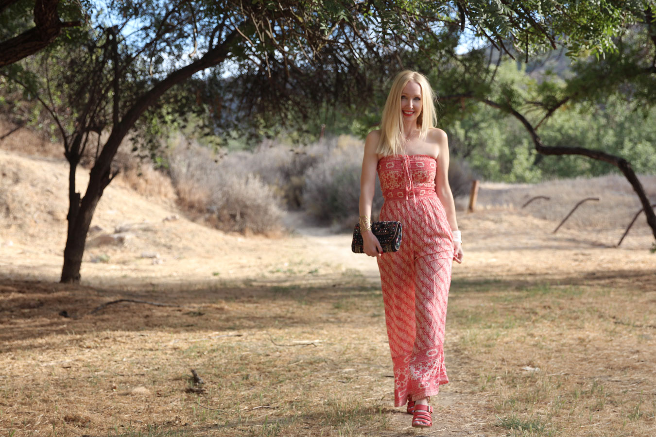 currently crushing, free people smocked jumpsuit