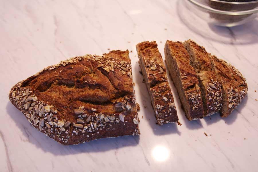 seeded multi-grain bread