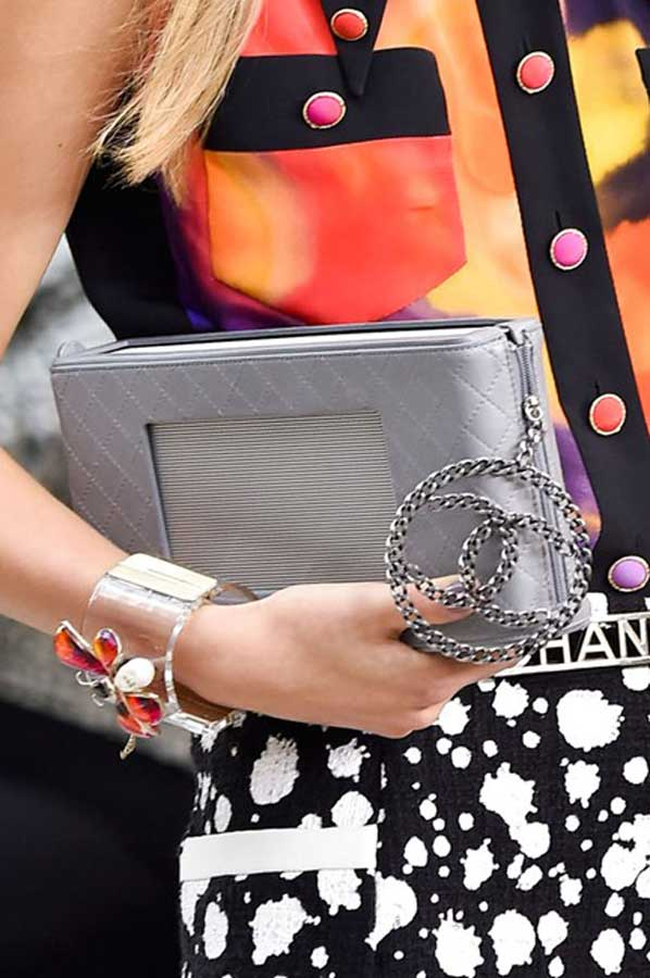 currently crushing chanel bag ss15