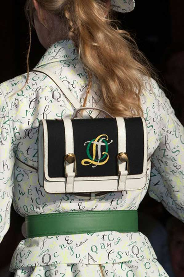 currently crushing olympia le-tan bag ss15