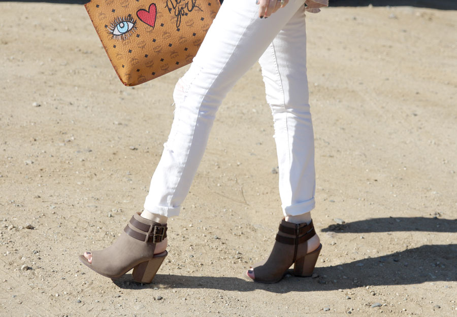 currently crushing, lolly clothing, mcm soho portfolio, forever 21 distressed white denim, justfab online booties