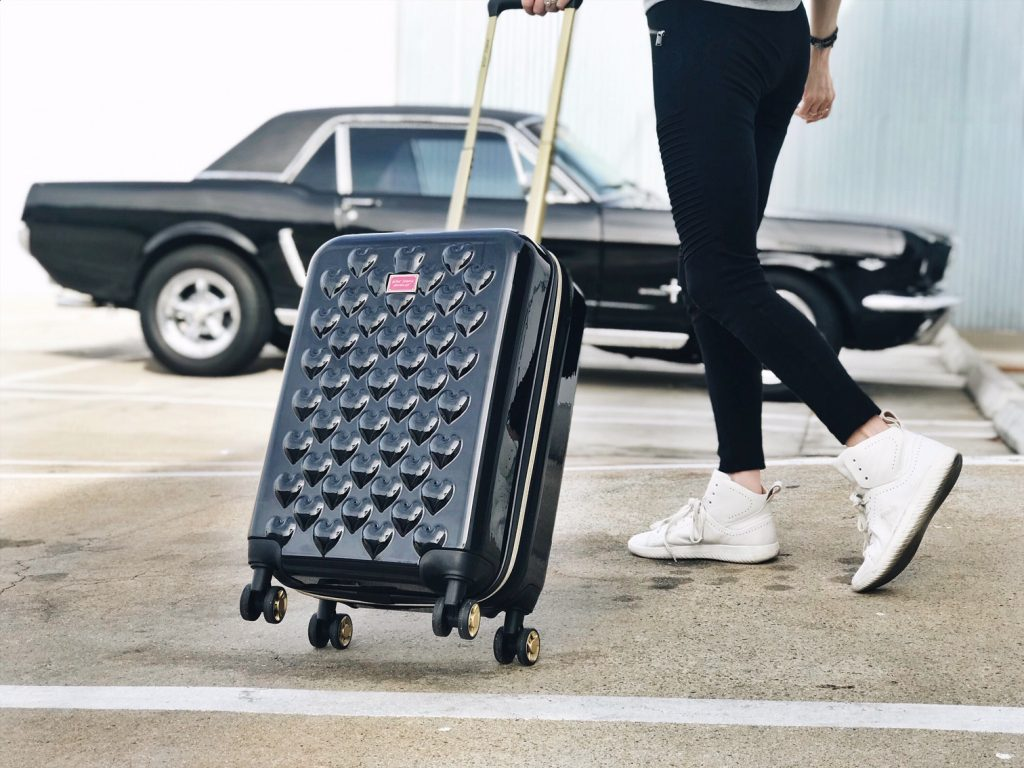 currently crushing, betsey johnson hearts suitcase mobs design shoes, express leggings