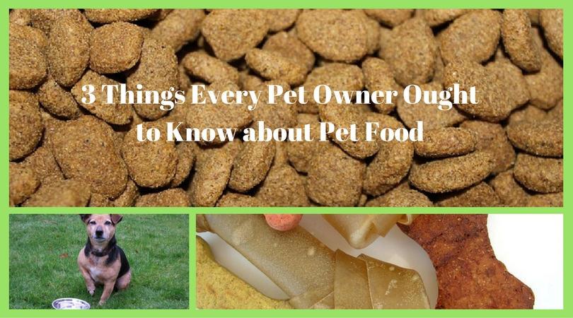 Pet Food – 3 Things Every Pet Owner Ought to Know about