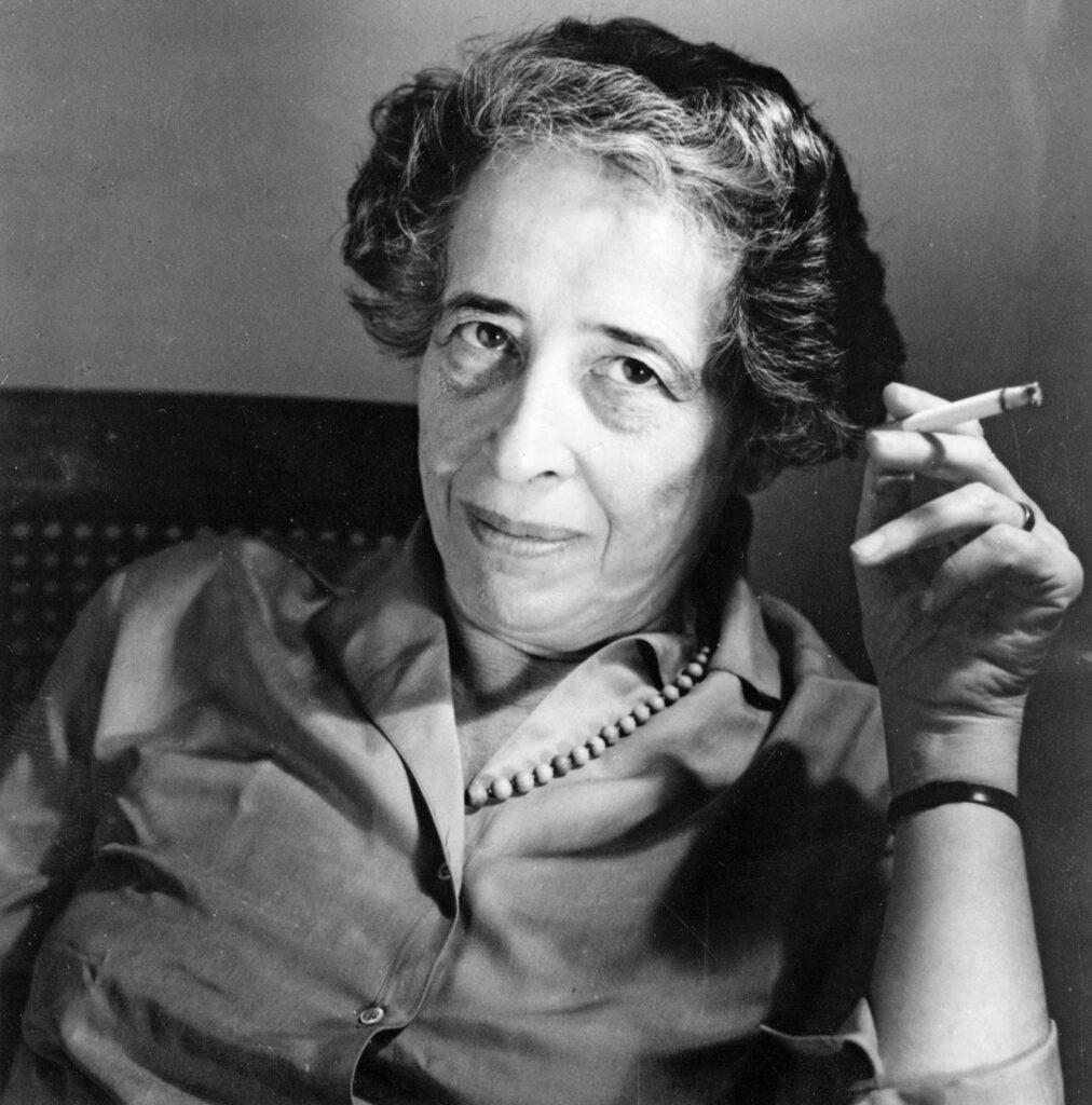 Hannah Arendt - Sol em libra com Ascendente em Câncer