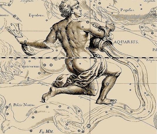 a constelação de Aquário