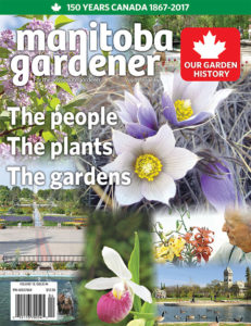 Manitoba Gardener Historical issue