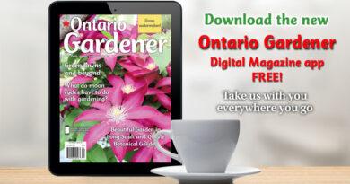 Ontario Gardener Mag newsstand app