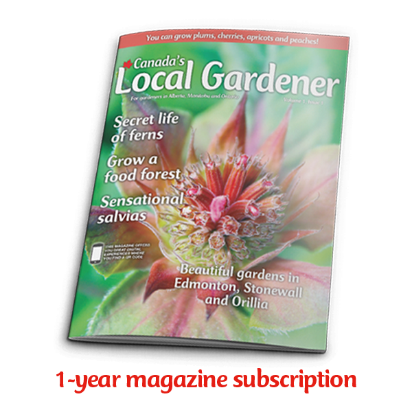 1 year subscription to Canada's Local Gardener magazine