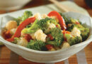 Garden Fresh Recipes: Broccoli and cauliflower stir fry
