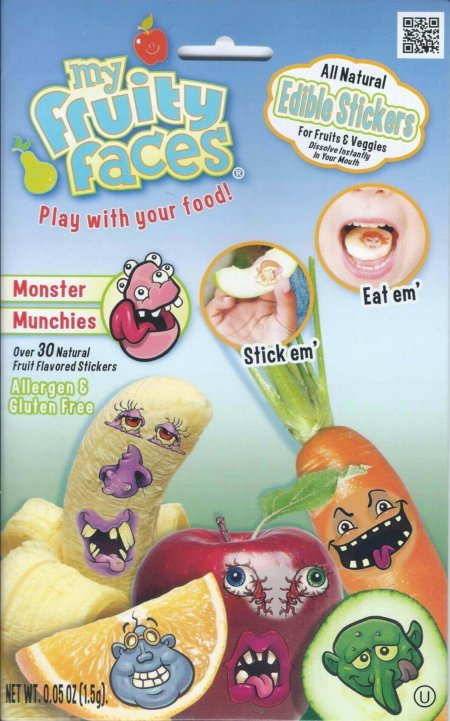 Monster Munchies Edible Stickers®