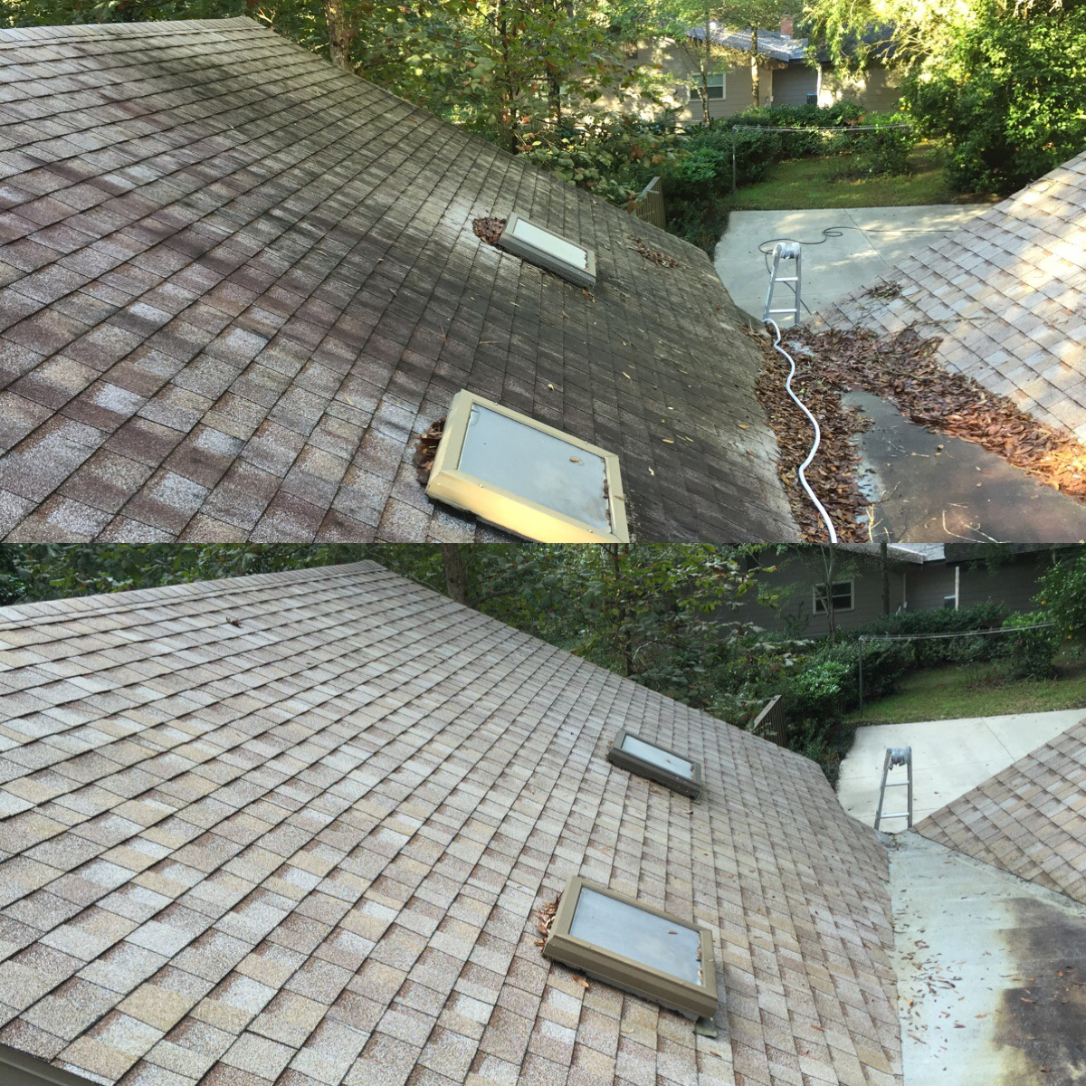 roof washing serving gainesville ocala florida areas