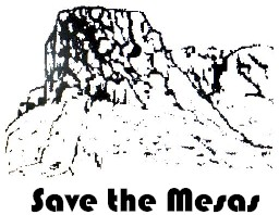 Save the Mesas - Golden Colorado