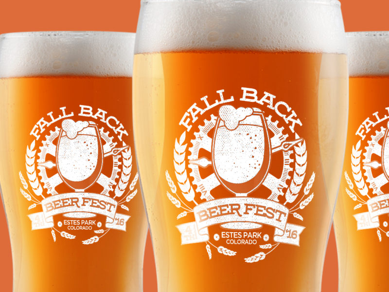 Fall Back Beer Fest Glasses