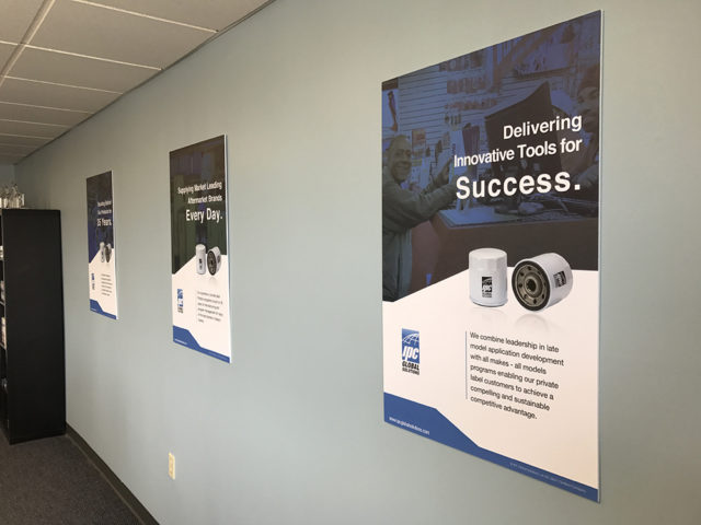 printed poster design by matt wilson for ipc global solutions