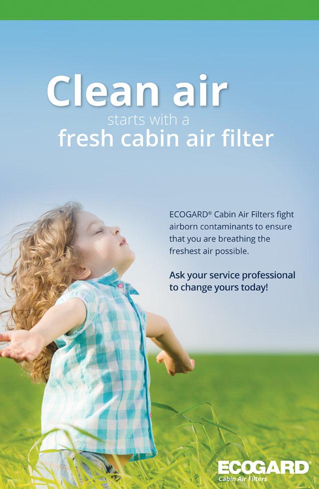 ECOGARD — Clean Air Campaign