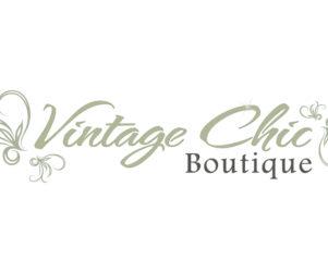 vintage chic logo design by matt wilson