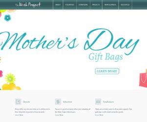 the wish project web design by matt wilson