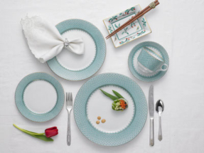 Mottahedeh 5 piece place setting