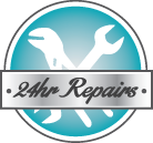 24hr HVAC Service Icon - Hales Corners Heating & AC