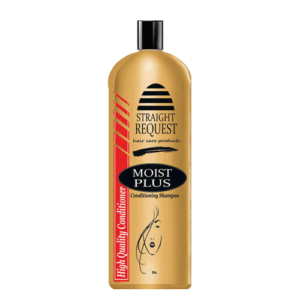 Straight Request Moist Plus Conditioner + Shampoo | 32 oz