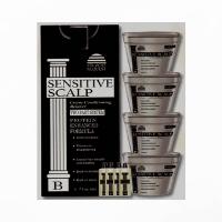 Straight Request Sensitive Scalp Black | 4 Pack