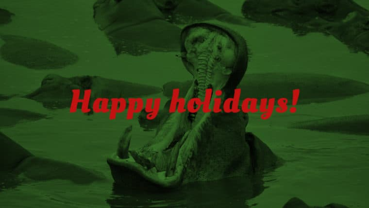 Holiday lessons from wild and dangerous animals